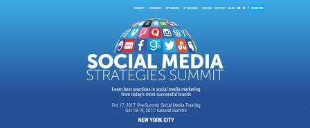 Social Media Strategies Summit 2017