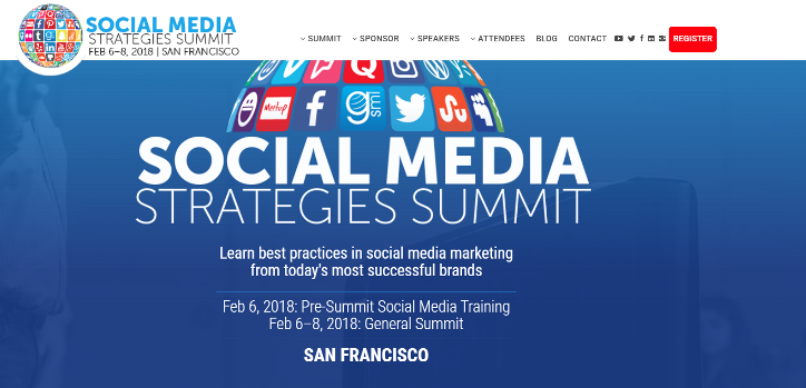 Social Media Strategies Summit 2018