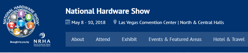 National Hardware Show 2018