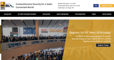 International Security Conference & Exposition - ISC West 2018