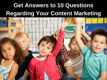 Ten Questions to Ask Regarding Your Content Marketing Assets