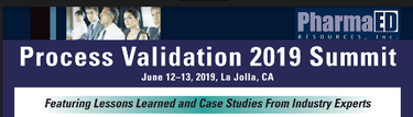 Process Validation 2019 Summit