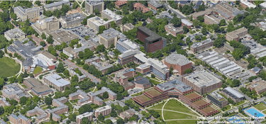3D Reality Mesh of Penn State's University Park Campus Generated with ContextCapture