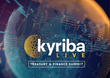 kyriba Live Treasury & Finance Summit